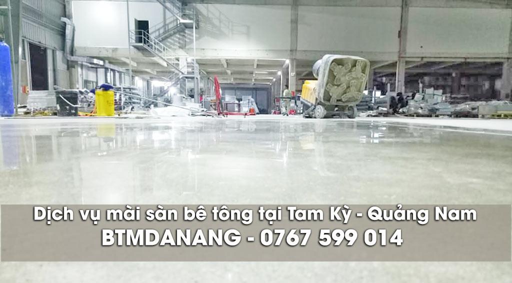 Dịch vụ mài sàn bê tông tại Tam Kỳ Quảng Nam