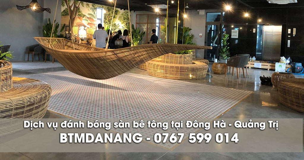 Đánh bóng sàn bê tông tại Đông Hà - Quảng Trị