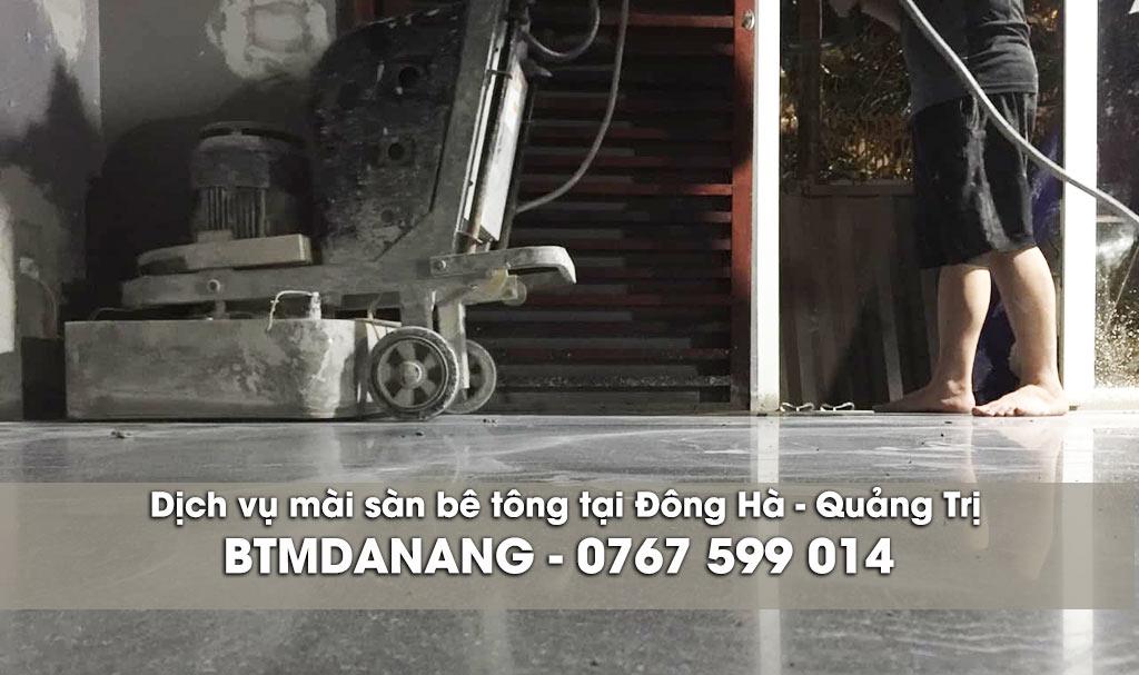 Dịch vụ mài sàn bê tông tại Đông Hà - Quảng Trị
