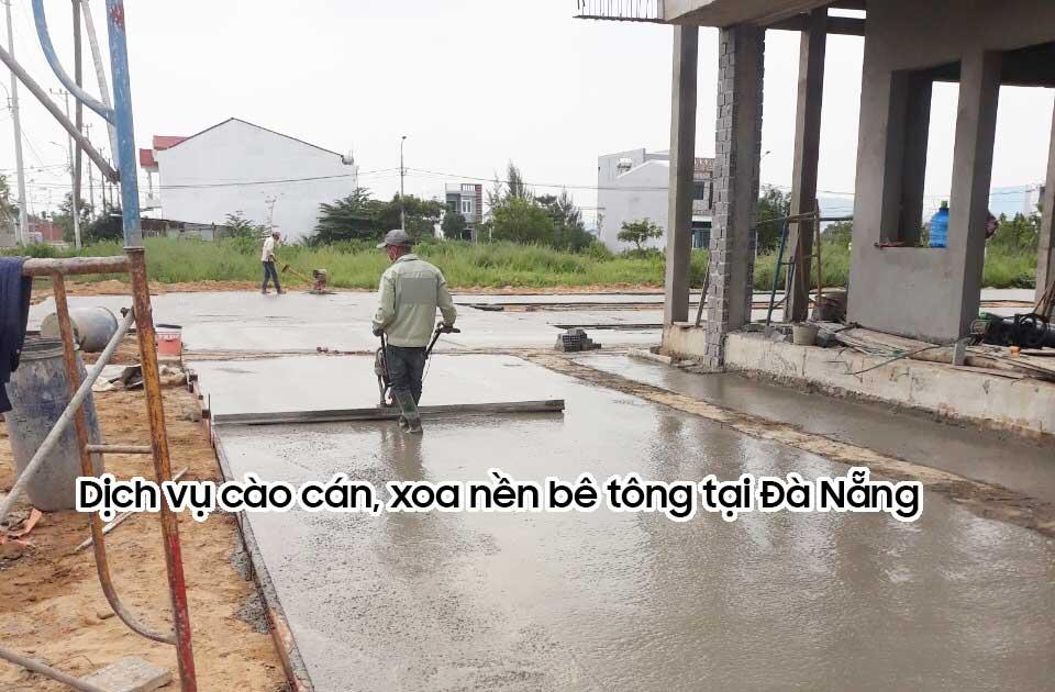 Dịch vụ cào cán xoa nền bê tông tại Đà Nẵng