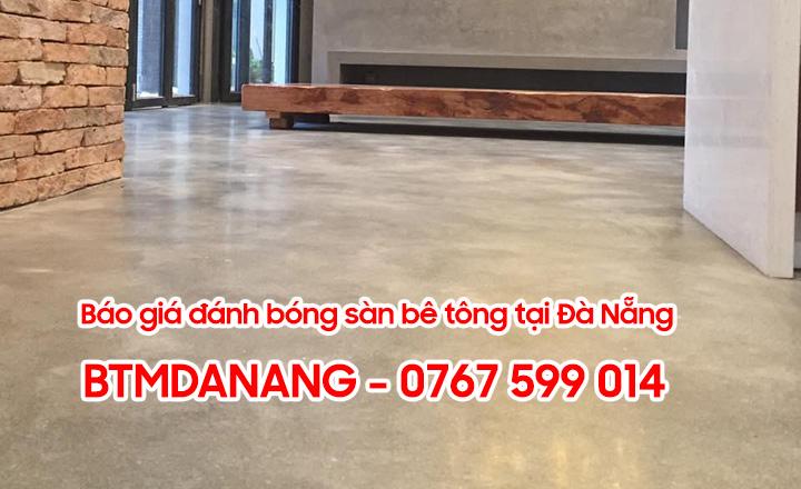 Báo giá đánh bóng sàn bê tông tại Đà Nẵng