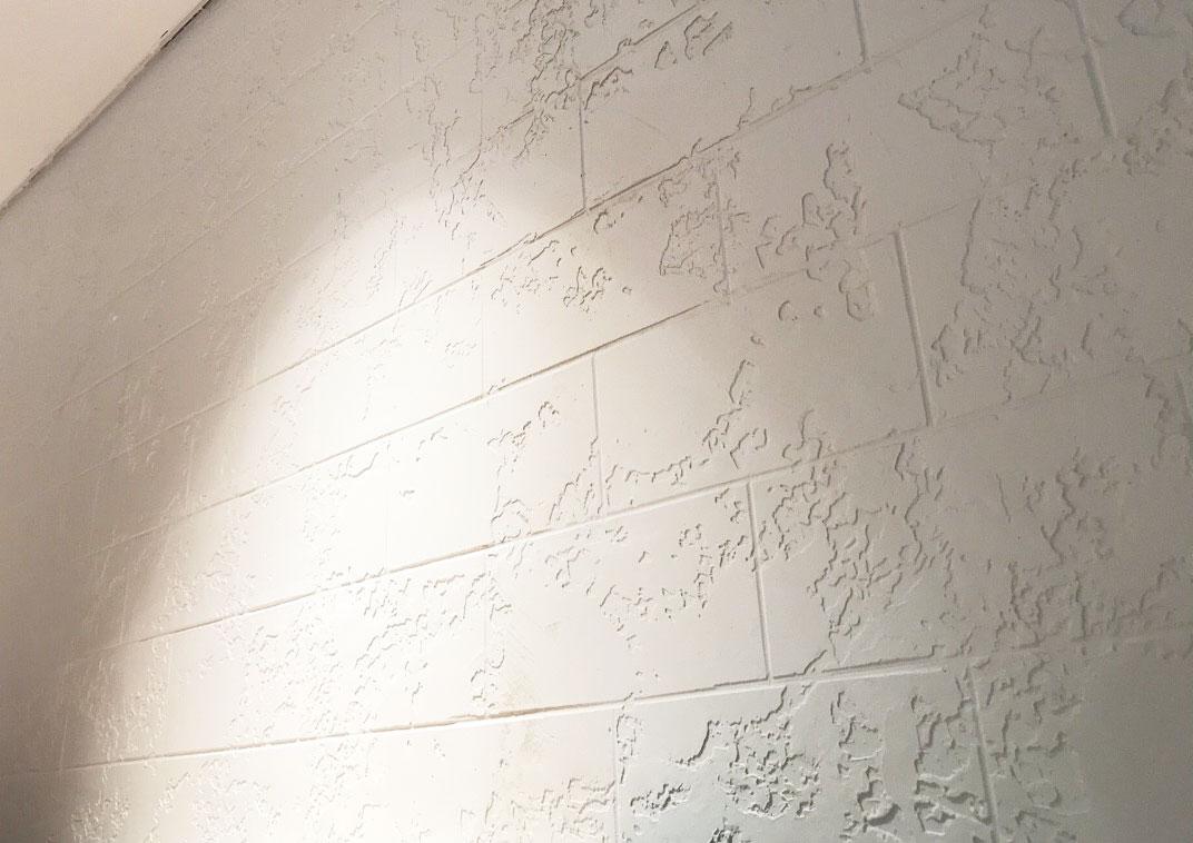 Thi công tường hiệu ứng bê tông